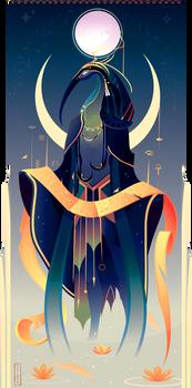 Thoth ~ Egyptian Gods by Yliade