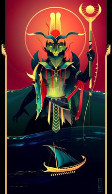 Sobek ~ Egyptian Gods