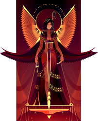 Maat ~ Egyptian Gods by Yliade