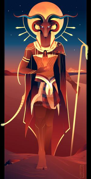 Khnum ~ Egyptian Gods