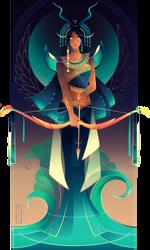 Satet ~ Egyptian Gods