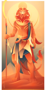 Maahes ~ Egyptian Gods