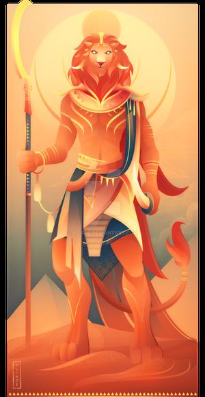 Maahes ~ Egyptian Gods
