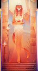 Mafdet ~Egyptian Gods by Yliade