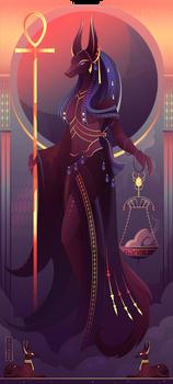 Anput ~ Egyptian Gods