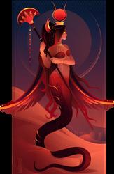 Meretseger ~ Egyptian Gods by Yliade
