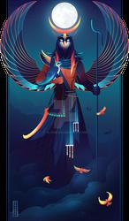 Khonsu ~ Egyptian Gods