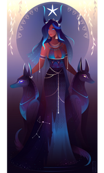 Sopdet ~ Egyptian Gods by Yliade
