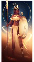 Neith ~ Egyptian Gods by Yliade