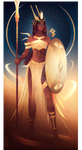 Neith ~ Egyptian Gods by Yliade