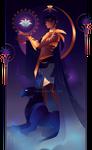 Nefertem ~ Egyptian Gods by Yliade