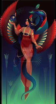 Wadjet ~ Egyptian Gods