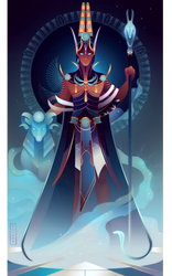 Amun ~ Egyptian Gods