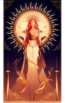 Sol ~ Norse Gods and Goddesses