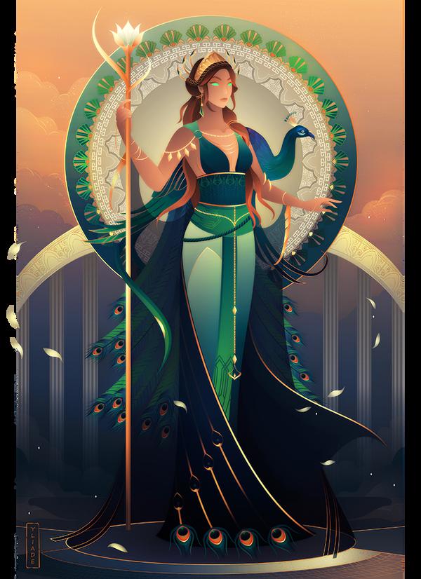 Hera ~ Greek Mythology by Yliade on DeviantArt