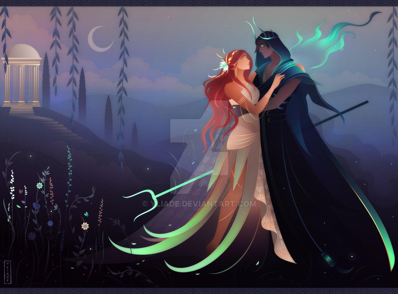 Hades and Persephone ~ Greek Mythology