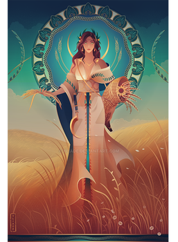 Demeter ~ Greek Mythology