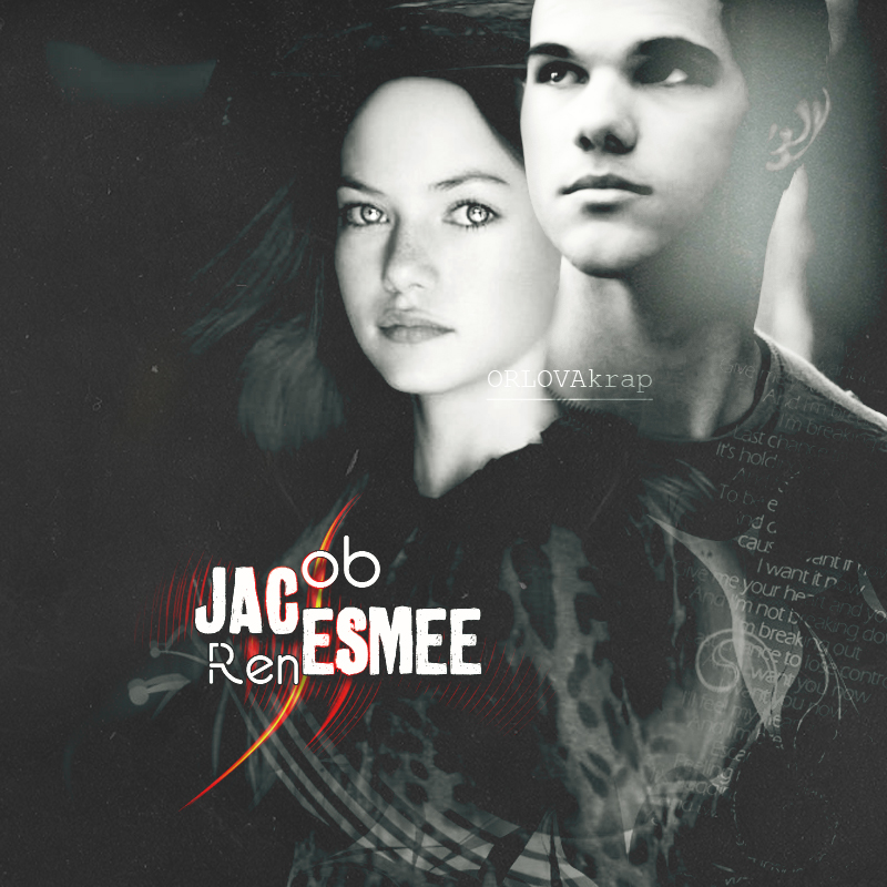 Renesmee/ Jacob by ORLOVAkrap
