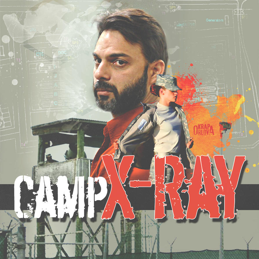 X ray poster design - Kristen Stewart Fan Poster Camp X Ray By Orlovakrap