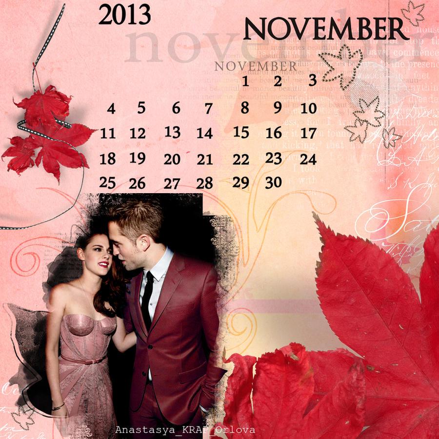 RobSten/calendar_november by ORLOVAkrap