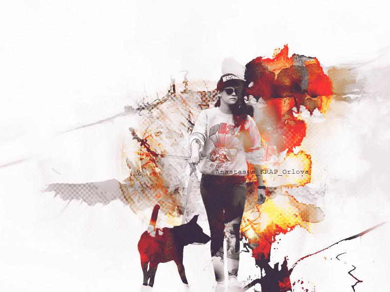 Kristen Stewart by ORLOVAkrap