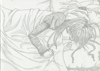 Neon Nostrade: Crying Myself to Sleep by MegumiOkaya