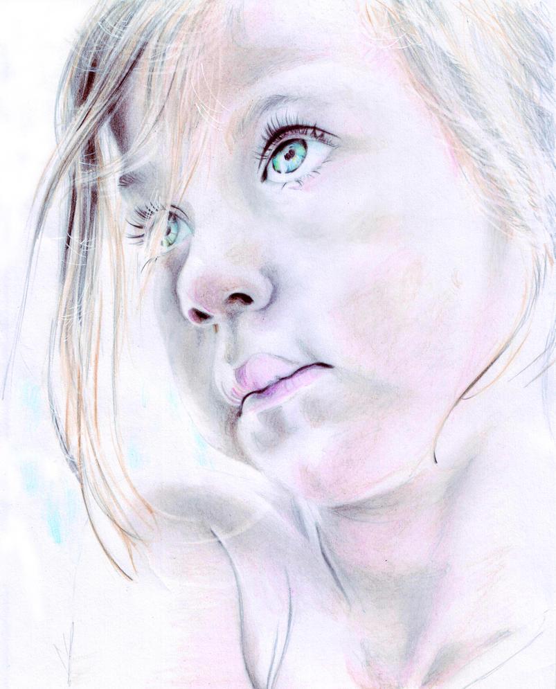 Eyes of Blue by bristolillustrator