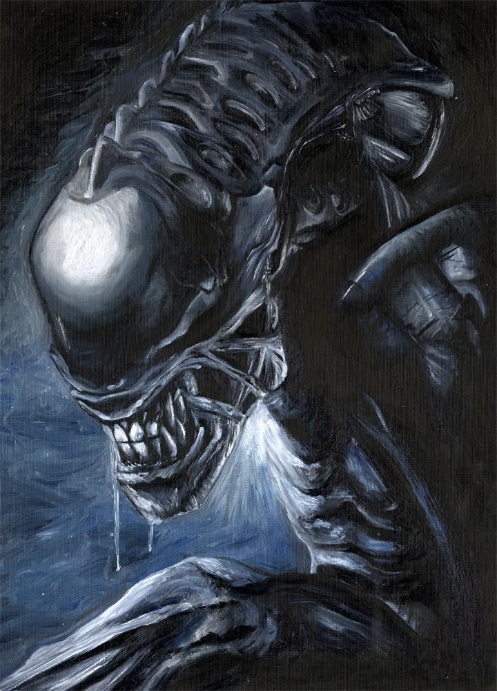 aliens vs predator drawings - photo #36