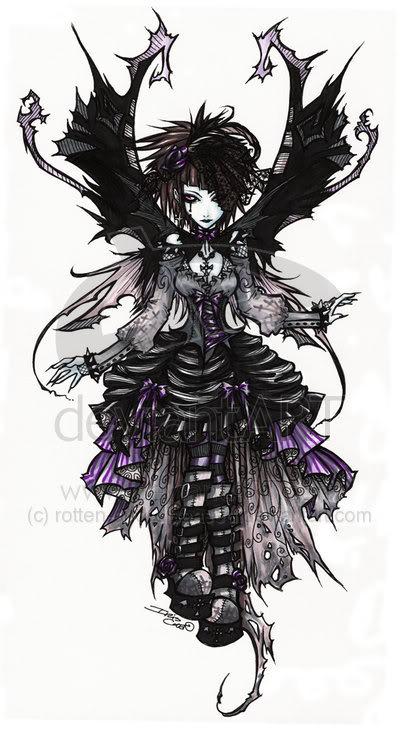 Gothic Fairy By Blueangelwar