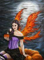 Halloween Fairy by AinhoaOrtez