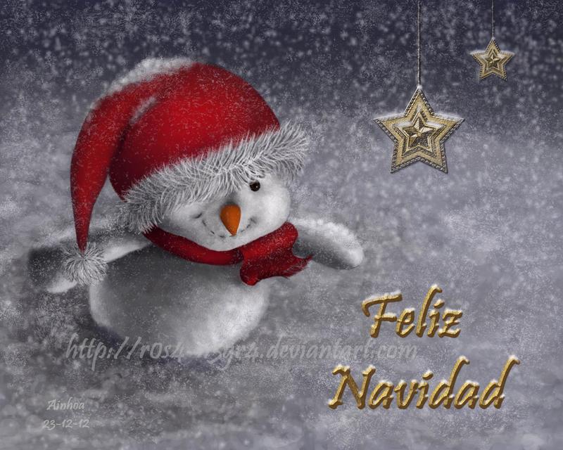 Christmas Card 2012 by AinhoaOrtez