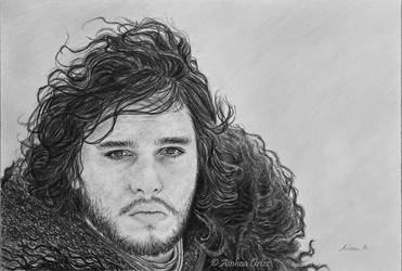 *Jon Snow, from Game of Thrones*