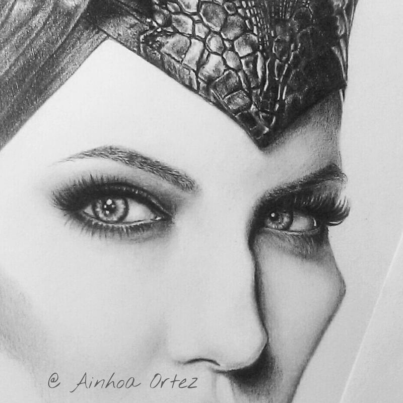 Maleficent WIP 3 by AinhoaOrtez