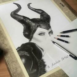Maleficent WIP 4 by AinhoaOrtez