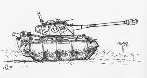 Med Tank ink