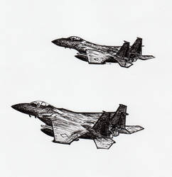 F-15's in ink