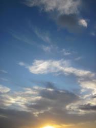 Dramatic Sky At Sunset by PotatoPrint007