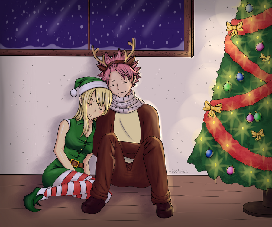Official Romance Thread - Page 4 Waiting_for_santa_by_misstirius-d5os651
