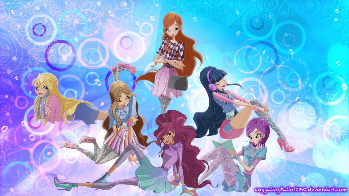 World Of Winx Wallpaper by angyalosybalint1991