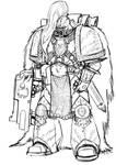 Thunder Warrior Sketch Proto-Power Armour