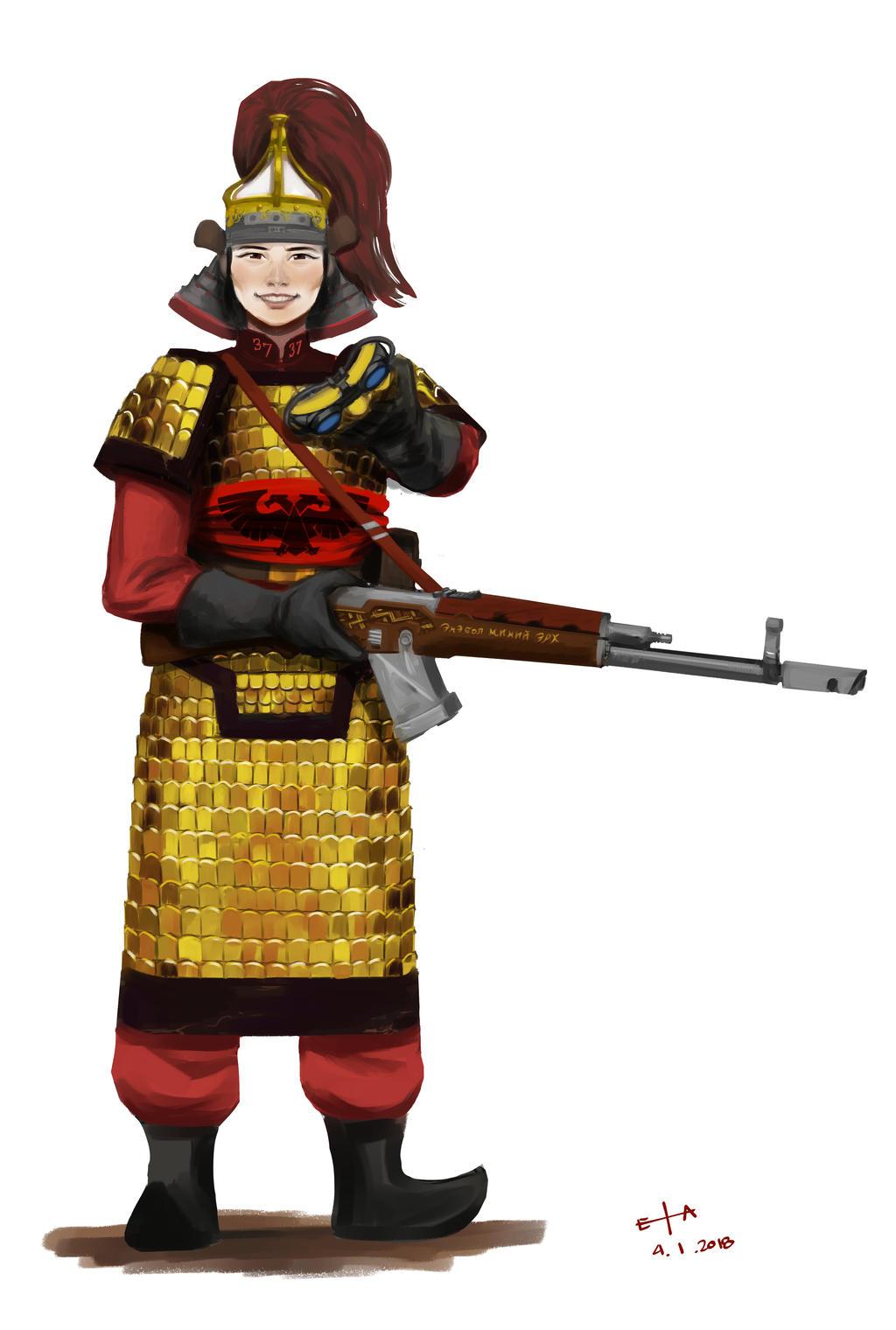 Sutherland Dynast Guard(Unmasked)