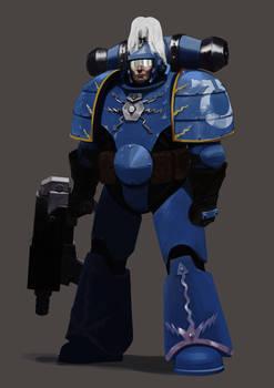 MK1 Adeptus Astartes Ultramarine