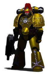 Thunder Warrior MK1 by earltheartist