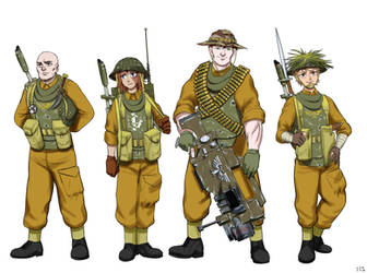 Roane Deepers Squad by earltheartist