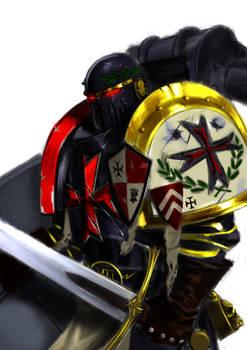 Black Templar veteran and former imperial fist