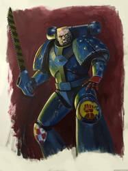 Rogue Trader era Crimson Fist