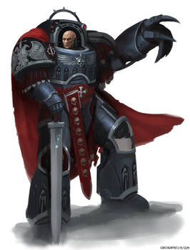 Chapter Master Ariel Baruch of the Eternal Legion