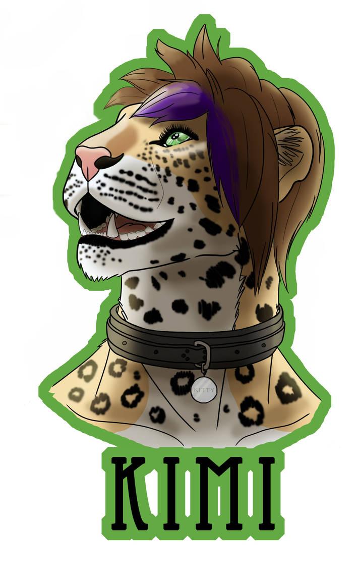 Kimi Badge by KimiFur
