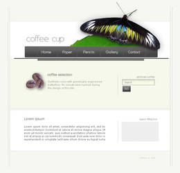 Coffee Cup by cellular