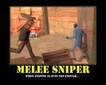 Melee Sniper